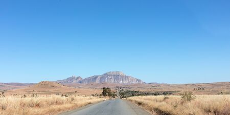 Fandana (the gateway to the south), a rock formation alongside the RN7 road in southwest Madagascar