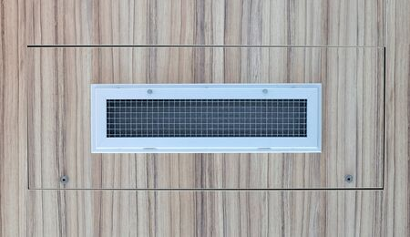 Airvent in a hotelroom in the Netherlands