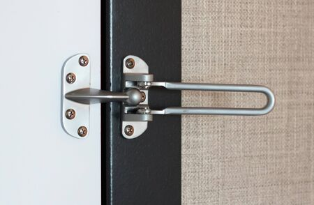 Safety mechanism lock on door, selective focus