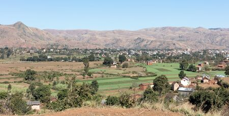 The Malagasy city of Antsirabe, central Madagascar