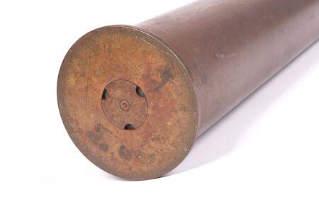 Used artillery shell, ww2