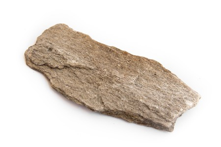 homogeneous: macro of slate, a fine-grained, foliated, homogeneous metamorphic rock Stock Photo