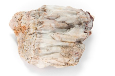quartzite: detailed macro shot of some white stone