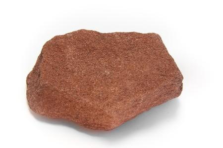 Macro shot of sandstone, a sedimentary rock