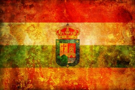 some very old vintage flag of la rioja Stock Photo - 17231278