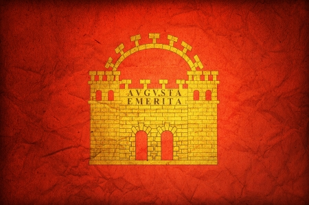 merida: some very old vintage flag of merida