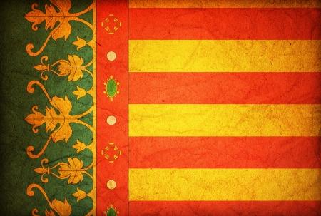 valencia: some very old vintage symbol of valencia