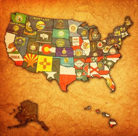 Us Map With State Flags - Us-map-with-state-flags
