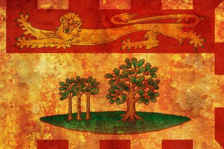 edward: some very old vintage flag of prince edward island