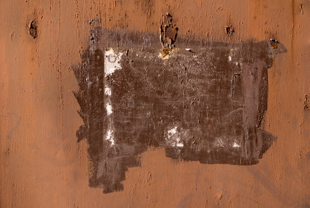 rust covered: texture of old metal surface covered with rust