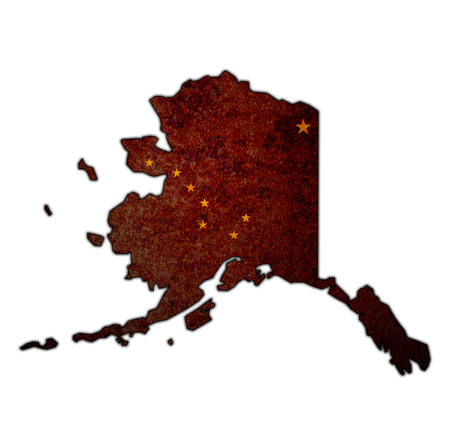 territory of alaska state isolated from other states of USA