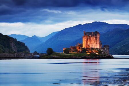 Beautiful view of Eilean Donan Castle