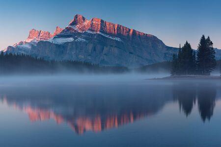 View of Banff National Park, Alberta, Canada Фото со стока - 134895432