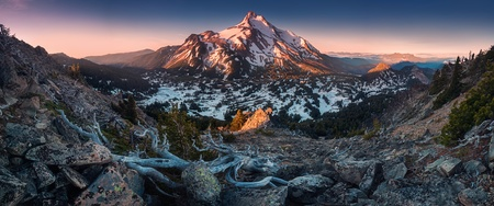 At 10,492 feet high, Mt Jefferson is Oregons second tallest mountain.Mount Jefferson Wilderness Area, Oregon