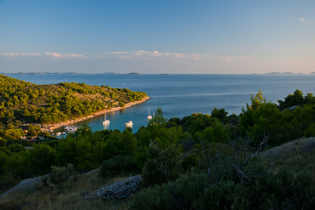 murter: Photo of Beautiful bay on the Murter, Croatia