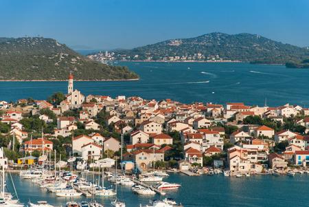 betina: Photo of Betina city, Murter Island, Croatia