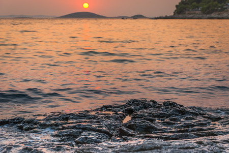 murter: Photo of sunset over Kornati Islands, Murter, Croatia