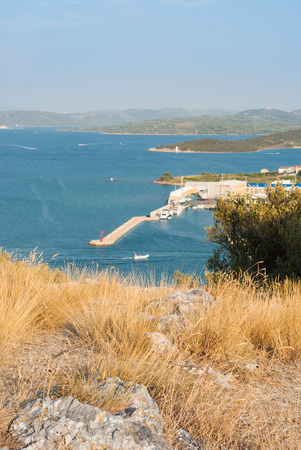murter: Photo of Betina city, Murter Island, Croatia