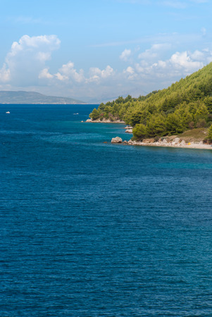 riviera: Photo of Croatian beach, Makarska Riviera, Dalmatia