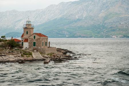 photo of lighthouse in Sucuraj, Hvar Island, Croatia Zdjęcie Seryjne