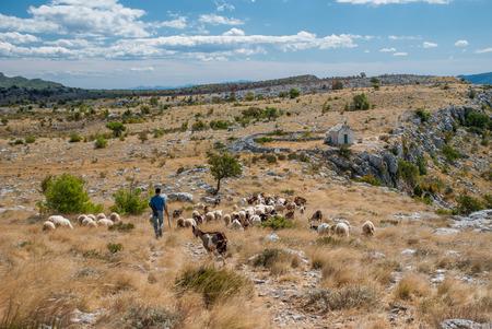 photo of Croatian moutains in Podstrana near Split, Dalmatia, Croatia Zdjęcie Seryjne