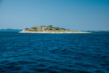 photo of beautiful Adriatic Sea - Kornati Islands Stock Photo