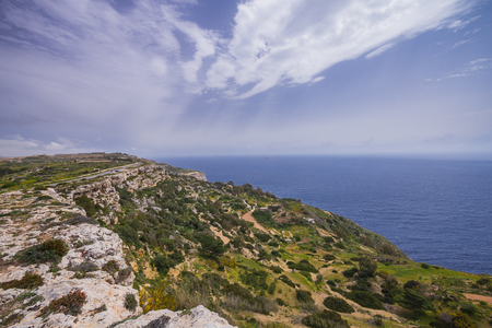 Photo of Dingli Cliffs and Mediterranean Sea, Malta