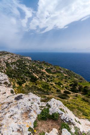 Photo of Dingli Cliffs and Mediterranean Sea, Malta