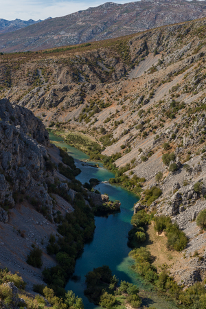 Photo of Zrmanja canyon, River zrmanja in Zadar county, Dalmatia, Croatia
