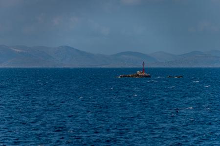 Photo of Idilic view on the mediterranean sea, Murter, Dalmatia, Croatia