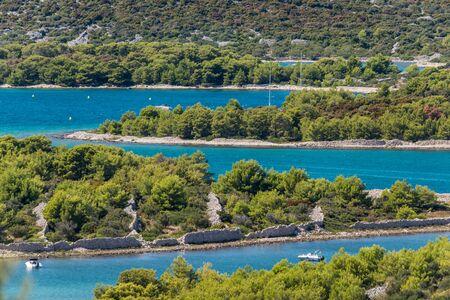 Photo of Yachting on the turquoise Adriatic, Murter, Dalmatia, Croatia Zdjęcie Seryjne