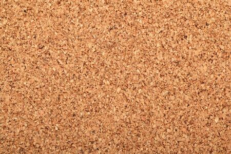 Close up view of cork board texture