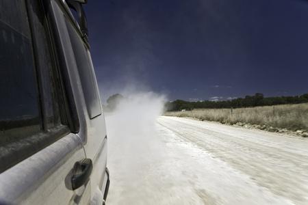 dirt track road au photo