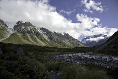 mount cook valley nz