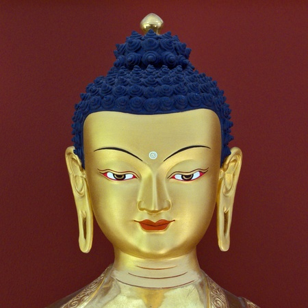Budda`s head photo