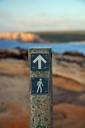 tourist sign