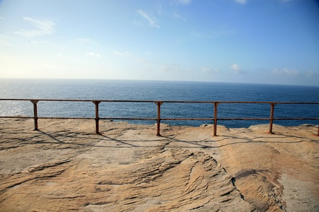 cliff coast in Cronulla natonal park