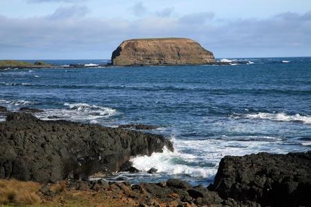 lonely rocky island