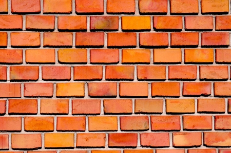 pattern of small red brick  The background or backing photo
