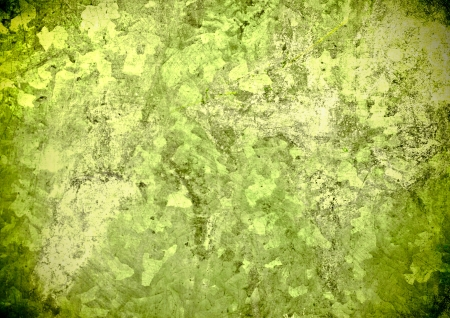 Texture consisting of rotten green wall texture Stock Photo - 15217949