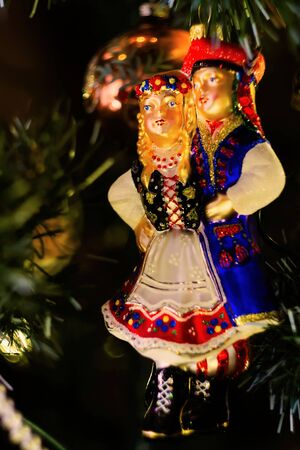 Interesting and unusual Christmas tree decorations.