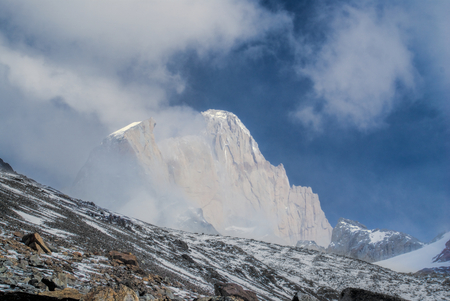 glaciares: Scenic panorama of Los Glaciares national park in Argentina