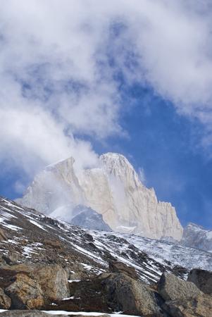 los glaciares: Belle montagne nel Parco Nazionale Los Glaciares in Argentina Archivio Fotografico