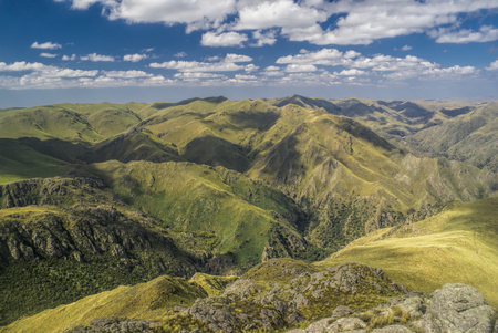 Scenic mountainous landscape in Capilla del Monte in Argentina, South America