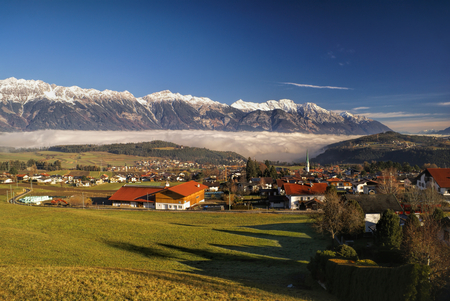 tirol: Scenic village in Tirol Alps near Innsbruck