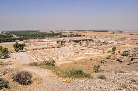 fars: Ruins of ancient persian capital Persepolis in current Iran