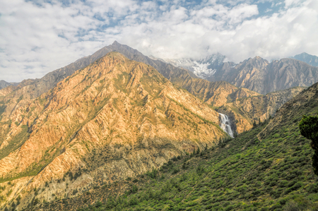 himalayas: Picturesque scenery in Himalayas mountains in Nepal