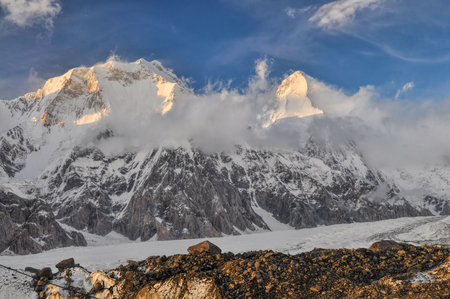 tien shan: Picturesque view Tian Shan mountain range in Kyrgyzstan