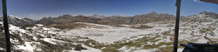 arunachal pradesh: Scenic panorama of cold landscape in Arunachal Pradesh region, India