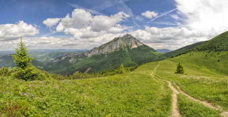 mala fatra: Picturesque view of Mala Fatra mountains in Slovakia